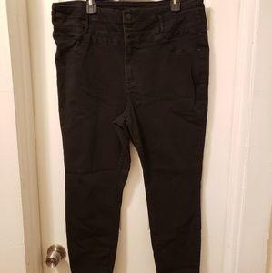 Denim - Pluse size highwaisted jeans